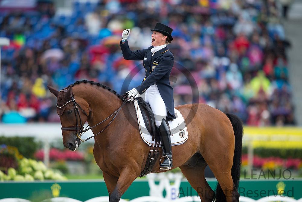 Isabell Werth - Don Johnson<br /> FEI European Championships Aachen 2015<br /> &copy; DigiShots