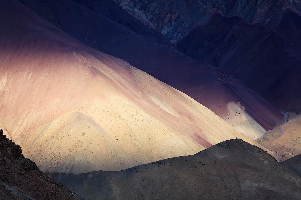 Mountain landscape. Hemis National Park. Ladakh. India.