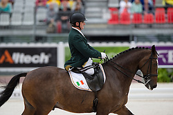 James Dwyer, (IRL), Orlando - Individual Test Grade IV Para Dressage - Alltech FEI World Equestrian Games™ 2014 - Normandy, France.<br /> © Hippo Foto Team - Jon Stroud <br /> 25/06/14