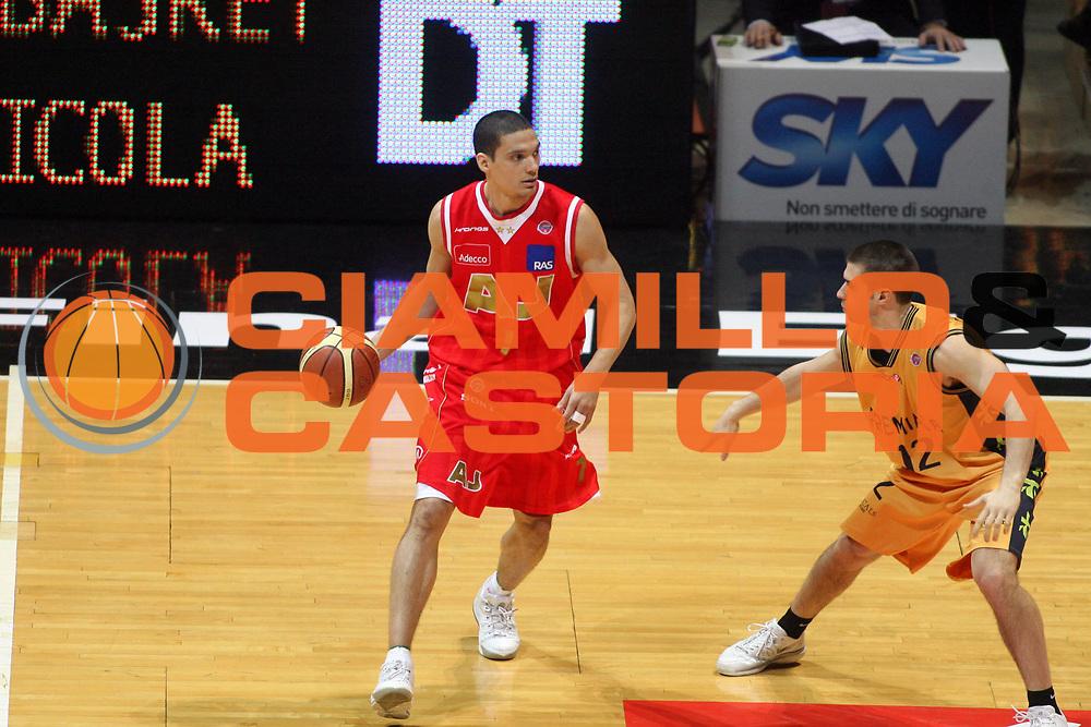 DESCRIZIONE : Bologna Coppa Italia 2006-07 Quarti di Finale Armani Jeans Milano Premiata Montegranaro <br />GIOCATORE : Green<br />SQUADRA : Armani Jeans Milano<br />EVENTO : Campionato Lega A1 2006-2007 Tim Cup Final Eight Coppa Italia Quarti di Finale <br />GARA : Armani Jeans Milano Premiata Montegranaro <br />DATA : 08/02/2007 <br />CATEGORIA : Palleggio<br />SPORT : Pallacanestro <br />AUTORE : Agenzia Ciamillo-Castoria/G.Livaldi