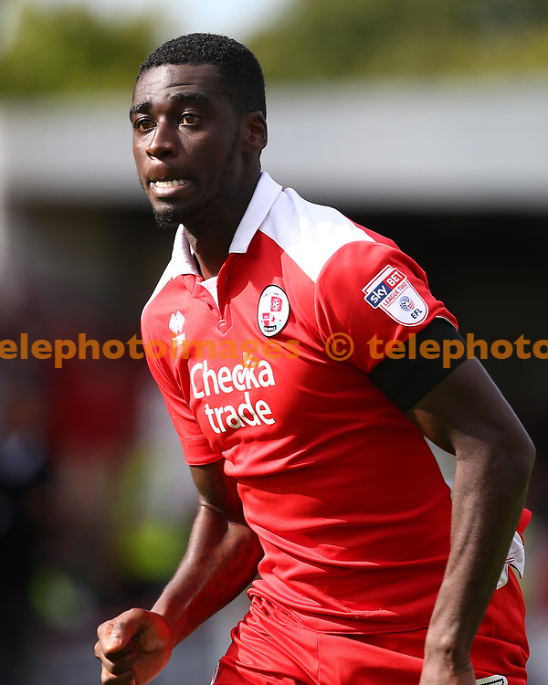 Enzio Boldewijn of Crawley during the Sky Bet League 2 match between Crawley Town and Cambridge United at the Checkatrade Stadium in Crawley. 19 Aug 2017