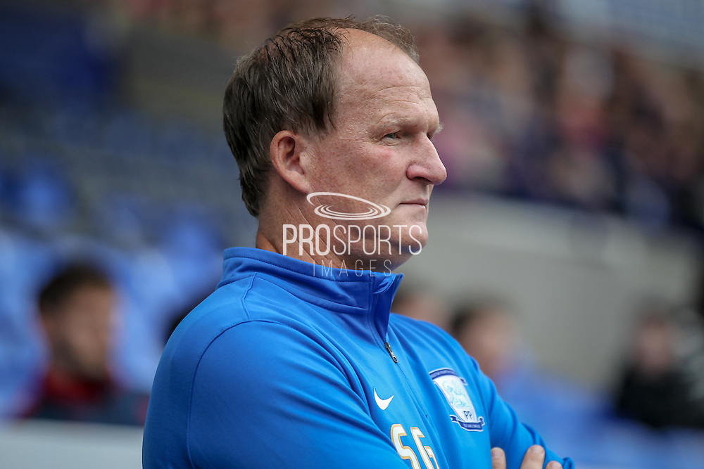 Simon Grayson (Preston North End) before the Pre-Season Friendly match between Bolton Wanderers and Preston North End at the Macron Stadium, Bolton, England on 30 July 2016. Photo by Mark P Doherty.