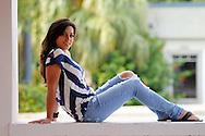 Senior photos of Daniela Diaz, River Ridge Class of 2011, by Mike Carlson Photography