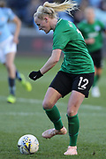 Brighton Womens midfielder Chloe Peplow (12)  during the FA Women's Super League match between Manchester City Women and Brighton and Hove Albion Women at the Sport City Academy Stadium, Manchester, United Kingdom on 27 January 2019.