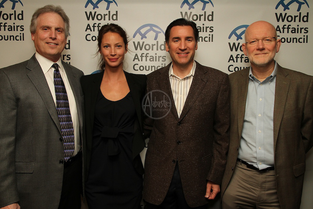 """World Affairs Council hosts the Seattle Premiere of """"No Woman, No Cry"""" with Christy Turlington Burns"""