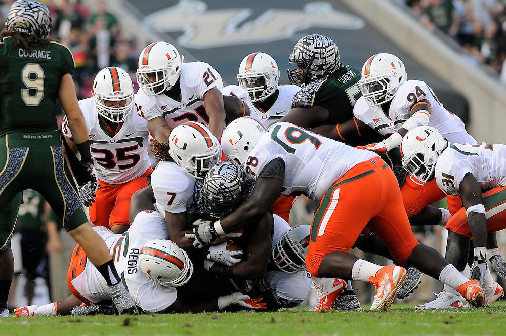 2011 Miami Hurricanes Football @ South Florida