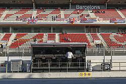 February 28, 2019 - Barcelona, Catalonia, Spain - Mercedes pitlane during F1 test celebrated at Circuit of Barcelona 28th February 2019 in Barcelona, Spain. (Credit Image: © Urbanandsport/NurPhoto via ZUMA Press)