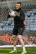 Jordan Pickford in warm up during the The FA Cup fourth round match between Millwall and Everton at The Den, London, England on 26 January 2019.