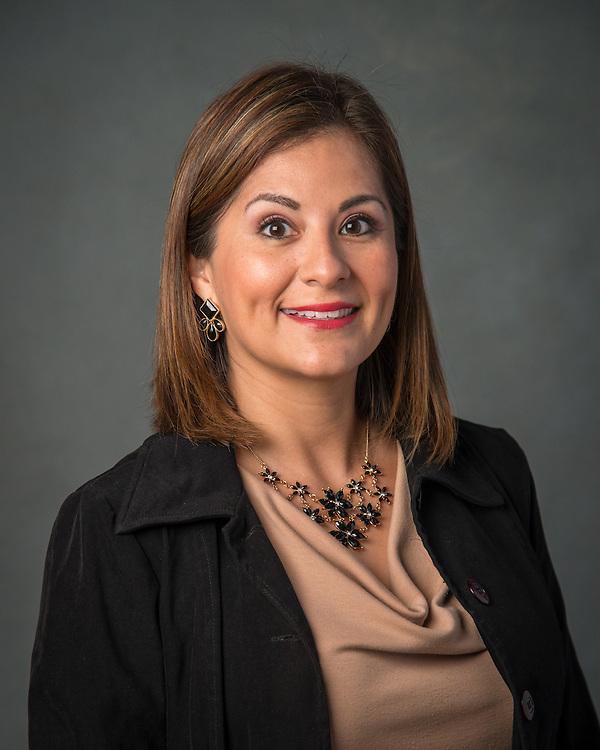 Maria T. Garcia poses for a photograph, September 2, 2015.