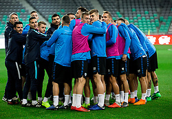 Athletes during practice session of Team Slovenia 1 day before UEFA Nations League match against Norway, on November 15, 2018 in SRC Stozice, Ljubljana, Slovenia. Photo by Vid Ponikvar / Sportida