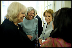 (LtoR) Cheryl Gillan, Theresa May, Caroline Spelman attend the first Cabinet meeting inside the Cabinet room, 10 Downing Street, London, UK, Thursday May 13, 2010. Photo By Andrew Parsons / i-Images