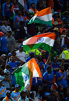 Cricket - 2019 ICC Cricket World Cup - Group Stage: Bangladesh vs. India<br /> <br /> Indian flags fling as they get on top against Bangladesh, at Edgbaston<br /> <br /> COLORSPORT/ASHLEY WESTERN