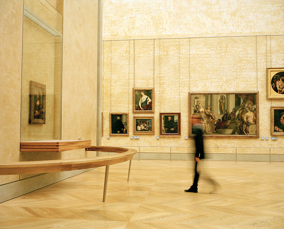 Mona Lisa,  Salle Des Etats, Musee du Louvre, Client: Fodor's Travel Guide To The Da Vinci Code