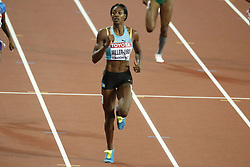 Bahamas's Shaunae Miller-Uibo in the semi-finals of the 400 meters women during the IAAF World Athletics 2017 Championships In Olympic Stadium, Queen Elisabeth Park, London, UK, on August 7th, 2017 Photo by Henri Szwarc/ABACAPRESS.COM