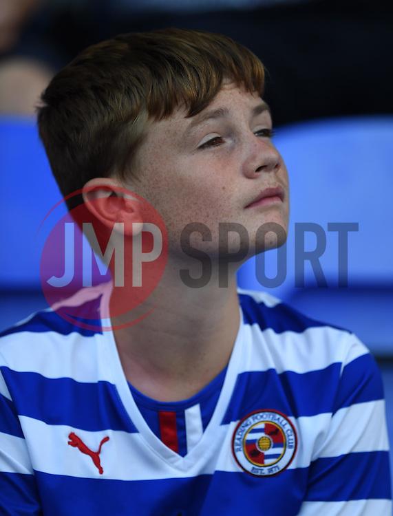 Reading supporter at Madejski Stadium - Mandatory by-line: Paul Knight/JMP - Mobile: 07966 386802 - 22/08/2015 -  FOOTBALL - Madejski Stadium - Reading, England -  Reading v MK Dons - Sky Bet Championship