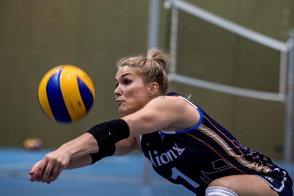 10-05-2018 NED: Training Dutch volleyball team women, Arnhem<br /> Kirsten Knip #1 of Netherlands