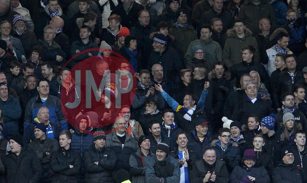 Bristol Rovers fans - Mandatory byline: Paul Terry/JMP - 13/02/2016 - FOOTBALL - Fratton Park - Portsmouth, England - Portsmouth v Bristol Rovers - Sky Bet League Two