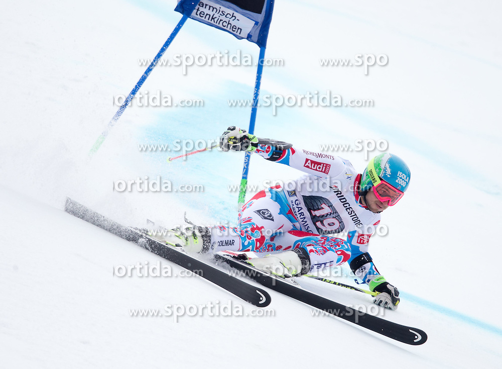 01.03.2015, Kandahar, Garmisch Partenkirchen, GER, FIS Weltcup Ski Alpin, Riesenslalom, Herren, 1. Lauf, im Bild Mathieu Faivre (FRA) // Mathieu Faivre of France in action during 1st run for the men's Giant Slalom of the FIS Ski Alpine World Cup at the Kandahar course, Garmisch Partenkirchen, Germany on 2015/03/01. EXPA Pictures © 2015, PhotoCredit: EXPA/ Johann Groder