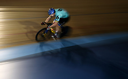 Russia's Shane Perkins in the Men's 200m Flying Time Trial during day six of the Six Day Series at Lee Valley Velopark, London