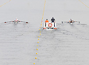 Poznan, POLAND, left GER M2X and right NZL M2X Bow Matthew TROTT and Nathan COHEN, stroke for stroke, move away from the start pontoon in a semi final of the men's double sculls, on the day six of the  2009 FISA World Rowing Championships. held on the Malta Rowing lake, Thursday  27/08/2009  [Mandatory Credit. Peter Spurrier/Intersport Images]