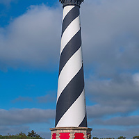 Early morning light on the Cape Hatteras Lighthouse. Cape Hatteras National Seashore, NC