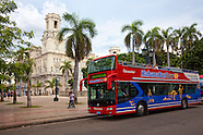 Bus Transtur Hop-on Hop-off, Havana, Cuba..