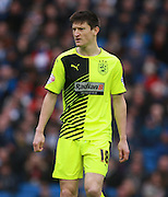 Huddersfield Town midfielder Joe Lolley during the Sky Bet Championship match between Brighton and Hove Albion and Huddersfield Town at the American Express Community Stadium, Brighton and Hove, England on 23 January 2016. Photo by Bennett Dean.