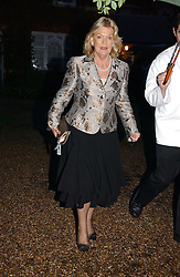 ROS PACKER widow of Kerry Packer at the annual Chelsea Flower Show dinner hosted by jewellers Cartier at the Chelsea Pysic Garden, London on 22nd May 2006.<br />