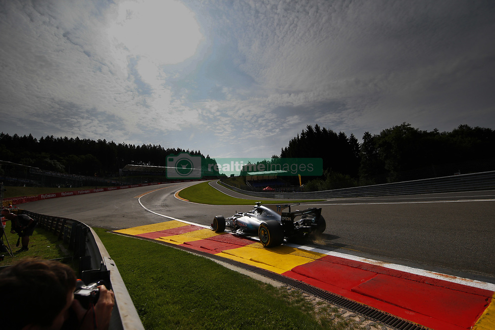 August 25, 2017 - Spa-Francorchamps, Belgium - Motorsports: FIA Formula One World Championship 2017, Grand Prix of Belgium, .#77 Valtteri Bottas (FIN, Mercedes AMG Petronas F1 Team) (Credit Image: © Hoch Zwei via ZUMA Wire)