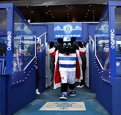 The QPR Mascot in the tunnel at Loftus Road - Mandatory byline: Robbie Stephenson/JMP - 12/12/2015 - Football - Loftus Road - London, England - Queens Park Rangers v Burnley  - Sky Bet Championship