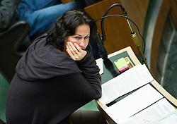 21.01.2015, Parlament, Wien, AUT, Parlament, 59. Nationalratssitzung, Sitzung des Nationalrates unter anderem mit den Thema: Fortpflanzungsmedizinrechts-Änderungsgesetz 2015. im Bild Gruene Klubobfrau Eva Glawischnig // Leader of the parliamentary group the greens Eva Glawischnig<br />  during the 59th meeting of the National Council of austria at austrian parliament in Vienna, Austria on 2015/01/21, EXPA Pictures © 2015, PhotoCredit: EXPA/ Michael Gruber
