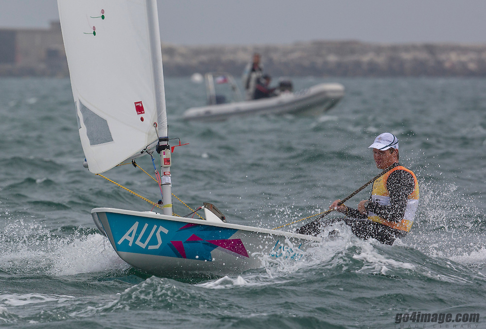 LaserAUSSlingsby Tom<br /> <br /> 2012 Olympic Games <br /> London / Weymouth