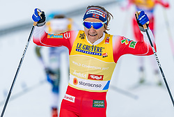 21.02.2019, Langlauf Arena, Seefeld, AUT, FIS Weltmeisterschaften Ski Nordisch, Seefeld 2019, Langlauf, Damen, Sprint, im Bild Maiken Caspersen Falla (NOR) // Maiken Caspersen Falla of Norway during the ladie's Sprint competition of the FIS Nordic Ski World Championships 2019. Langlauf Arena in Seefeld, Austria on 2019/02/21. EXPA Pictures © 2019, PhotoCredit: EXPA/ Stefan Adelsberger
