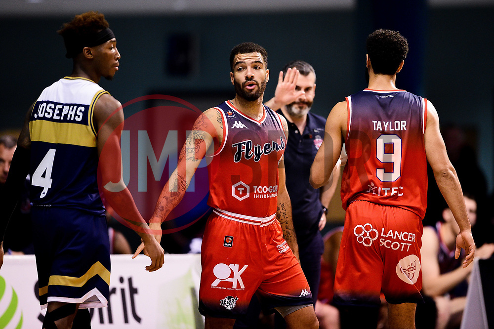 Lewis Champion of Bristol Flyers - Photo mandatory by-line: Ryan Hiscott/JMP - 01/11/2019 - BASKETBALL - University of Worcester - Bristol, England - Worcester Wolves v Bristol Flyers - British Basketball League Cup
