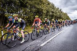 07.07.2019, Wels, AUT, Ö-Tour, Österreich Radrundfahrt, 1. Etappe, von Grieskirchen nach Freistadt (138,8 km), im Bild Jannik Steimle (Team Vorarlberg Santic, GER) // during 1st stage from Grieskirchen to Freistadt (138,8 km) of the 2019 Tour of Austria. Wels, Austria on 2019/07/07. EXPA Pictures © 2019, PhotoCredit: EXPA/ JFK