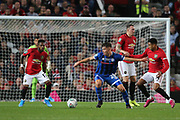 Rochdale's Aaron Morley during the EFL Cup match between Manchester United and Rochdale at Old Trafford, Manchester, England on 25 September 2019.