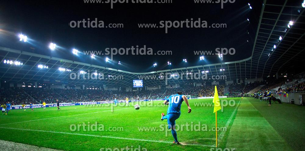 Goran Cvijanovic of Slovenia during friendly football match between National teams of Slovenia and Colombia, on November 18, 2014 in SRC Stozice, Ljubljana, Slovenia. Photo by Matic Klansek Velej / Sportida