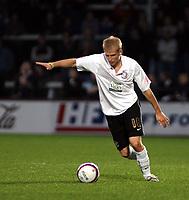 Photo: Mark Stephenson/Sportsbeat Images.<br /> Hereford United v Darlington. Coca Cola League 2. 03/11/2007.Hereford's new player Robert Threlfall