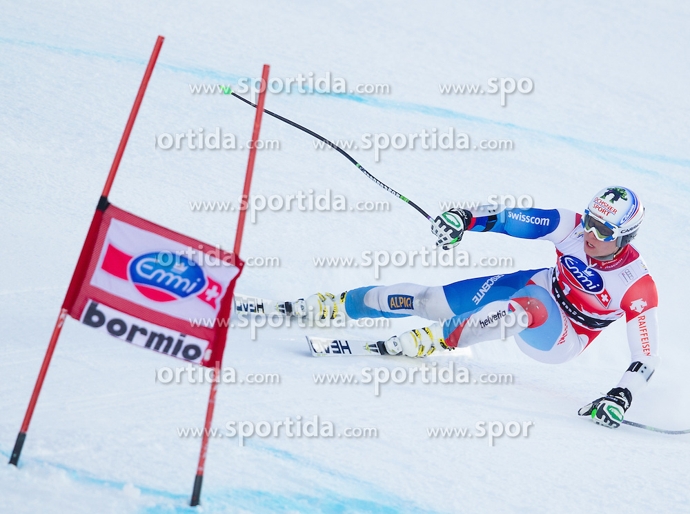 28.12.2012, Stelvio, Bormio, ITA, FIS Weltcup, Ski Alpin, Abfahrt, 2. Training, Herren, im Bild Ralph Weber (SUI) // Ralph Weber of Switzerland in action during 2nd practice of the mens Downhill of the FIS Ski Alpine Worldcup at the Stelvio course, Bormio, Italy on 2012/12/28. EXPA Pictures © 2012, PhotoCredit: EXPA/ Johann Groder