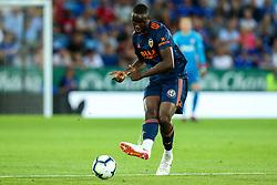 Geoffrey Kondogbia of Valencia - Mandatory by-line: Robbie Stephenson/JMP - 01/08/2018 - FOOTBALL - King Power Stadium - Leicester, England - Leicester City v Valencia - Pre-season friendly
