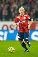 Florent Balmont - 15.03.2015 - Lille / Rennes - 29e journee Ligue 1<br /> Photo : Andre Ferreira / Icon Sport