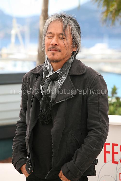 Director Lav Diaz.at the Norte, Hangganan Ng Kasaysayan Film Photocall Cannes Film Festival On Friday 24th May May 2013