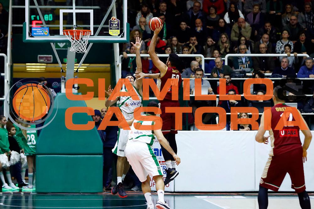 Mitchell Watt<br /> Sidigas Scandone Avellino - Umana Reyer Venezia<br /> Lega Basket Serie A 2017/2018<br /> Avellino, 02/12/2017<br /> Foto Alfredo De Lise / Ciamillo - Castoria