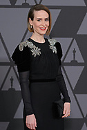 12.11.2017; Hollywood, USA: SARAH PAULSON<br /> attends the Academy&rsquo;s 2017 Annual Governors Awards in The Ray Dolby Ballroom at Hollywood &amp; Highland Center, Hollywood<br /> Mandatory Photo Credit: &copy;AMPAS/Newspix International<br /> <br /> IMMEDIATE CONFIRMATION OF USAGE REQUIRED:<br /> Newspix International, 31 Chinnery Hill, Bishop's Stortford, ENGLAND CM23 3PS<br /> Tel:+441279 324672  ; Fax: +441279656877<br /> Mobile:  07775681153<br /> e-mail: info@newspixinternational.co.uk<br /> Usage Implies Acceptance of Our Terms &amp; Conditions<br /> Please refer to usage terms. All Fees Payable To Newspix International