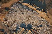 Landfill dumping area in Atlanta, Georgia.