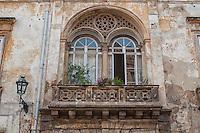 Antichi palazzi nel centro storico della città