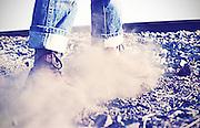Stirring up Dust, High Wycombe, UK, 1980s.