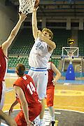 DESCRIZIONE : Cipro European Basketball Tour Italia Polonia Italy Poland<br /> GIOCATORE : Nicolo Melli<br /> CATEGORIA : Tiro<br /> SQUADRA : Nazionale Italia Uomini <br /> EVENTO : European Basketball Tour <br /> GARA : Italia Polonia <br /> DATA : 07/08/2011 <br /> SPORT : Pallacanestro <br /> AUTORE : Agenzia Ciamillo-Castoria/GiulioCiamillo<br /> Galleria : Fip Nazionali 2011 <br /> Fotonotizia :  Cipro European Basketball Tour Italia Polonia Italy Poland<br /> Predefinita :