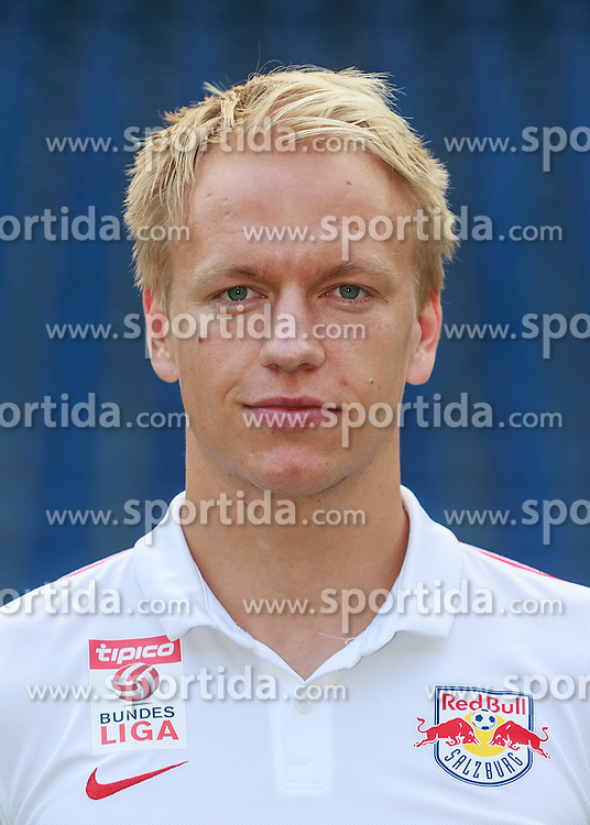 15.07.2015, Red Bull Arena, Salzburg, AUT, 1. FBL, FC Red Bull Salzburg, Fototermin, im Bild Havard Nielsen (FC Red Bull Salzburg) // during the official Team and Portrait Photoshoot of Austrian Bundesliga Club FC Red Bull Salzburg at the Red Bull Arena in Salzburg, Austria on 2015/07/15. EXPA Pictures © 2015, PhotoCredit: EXPA/ JFK