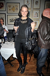 GABRIELLA ANSTRUTHER-GOUGH-CALTHORPE at the opening of the Brompton Bar & Grill, 243 Brompton Road, London SW3 on 11th March 2009.